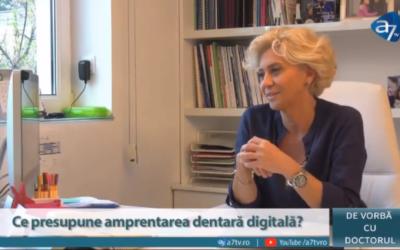 Interviu: Dr. Anca Vereanu despre amprentarea dentară digitală.