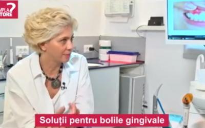 Interviu: Dr. Anca Vereanu – solutii pentru bolile gingivale, CSID
