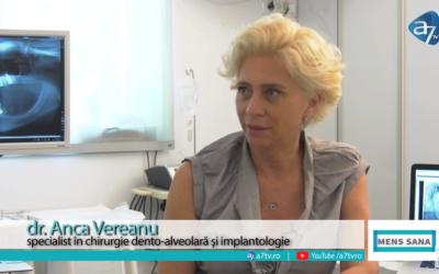 """Interviu: Dr. Anca Vereanu – despre procedura """"DINTI INTR-O ZI"""""""