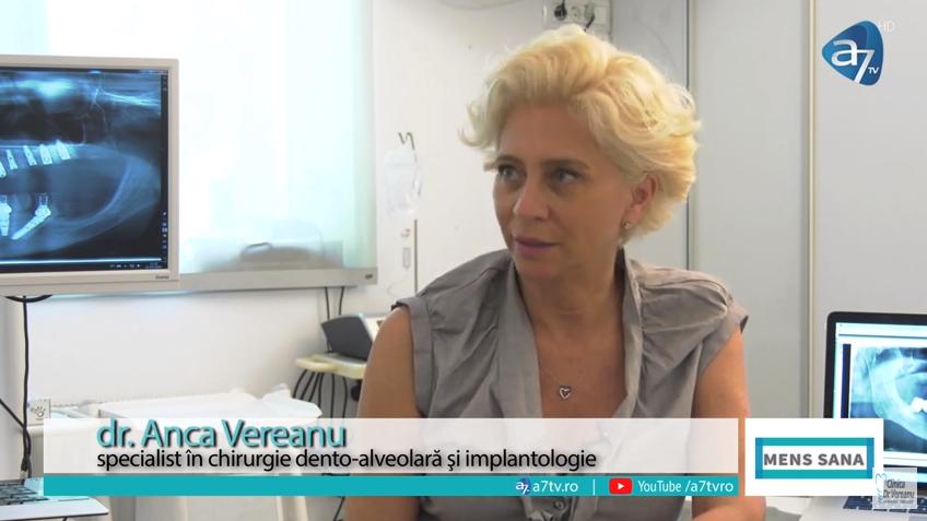 Dr. Anca Vereanu - Conceptul Dinti intr-o zi - A7Tv