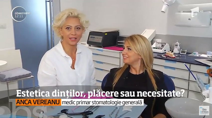 Interviu: Dr. Anca Vereanu-Estetica dintilor, placere sau necesitate?