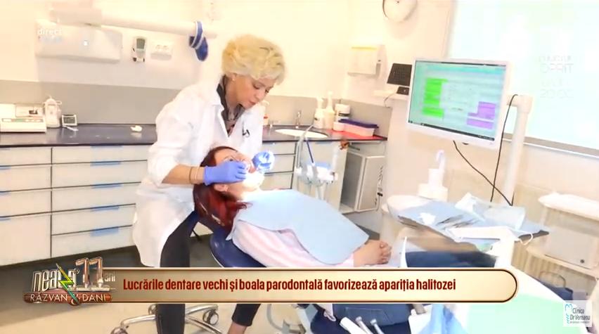 Interviu Dr. Anca Vereanu halitoza - cauze si tratament