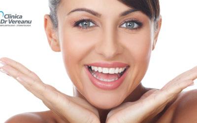 Tratament estetic multidisciplinar, dinții suport pentru buze în estetică